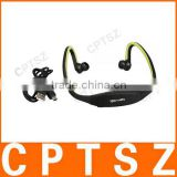 Sport Wireless Headset Headphone MP3 Music Player TF card support