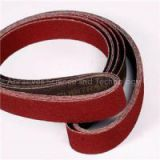 Aluminum Oxide Abrasive Sanding Belts For Wide Or Narrow Belt Sander