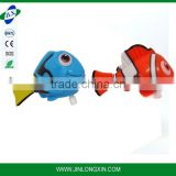 wind up both toy swimming fish