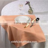 100% Cotton Satin Band Damask Table Napkin for Hotel or Restaurant