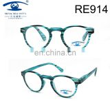 2017classical fringe pattern high quality fashion PC reading glasses