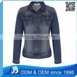 Custom Fashion <b>Denim</b> <b>Jacket</b>, Women <b>Jacket</b> Slim