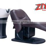 Ceramic basin and good ABS material shampoo chair hair salon