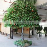 china wholesale factory make high imitated decorative artificial apple tree