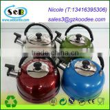 Stainless Steel Whistling Electric Kettle with Copper Capsule Bottom