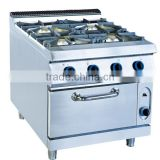 Multipurpose Kitchen Gas Power Oven And 4 Burner Gas Range