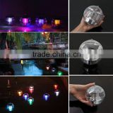 new arrival colorful Solar 7 Color Floating Multi LED Light Water Swimming Pool Ball