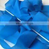 High quality dark blue slik rhythmic gymnastics ribbons with fiberglass stick