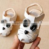 B21405A Baby cartoon leather sandals cute Baby Toddler shoes