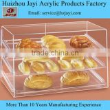 wholesale Alibaba hot sale clear acrylic cake stand bakery display showcase cabinet