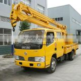 Dongfeng smart 14MT high-altitude work truck with lift hook