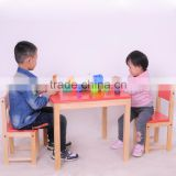 wooden study table for children, children drawing table