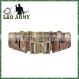 MOLLE Padded Patrol Belt Men Sports Military Duty Nylon Multicam