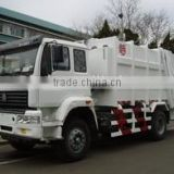 new china garbage compactor truck for sale
