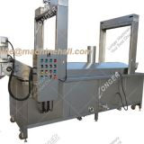 Continuous Fish Skin Frying Machine For Sale|Fish Meat Fryer Equipment