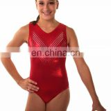 high quality plus size fat women leotards red design slevess