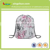 Custom nylon mesh drawstring bag china wholesale