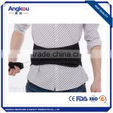 Easy wear Lumbar traction belt Medical orthopedic waist / back support belt for preventing herniation