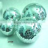 White Glass Mosaic Decorative balls available in all sizes and colours