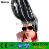 Promotional customized factory OEM pvc inflatable wig & kit inflatable kids wig