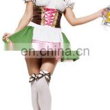 Hot sale beer woman costume sexy women costume for Oktoberfest AGC111