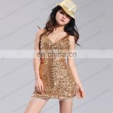 BestDance sleeveless mini skirt cheap sexy tight short mini skirt dress gold mini dress OEM
