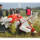 Walking-type Small Rice Harvester