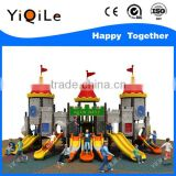 children slide amusement park toys castle style second hand playground equipment for sale