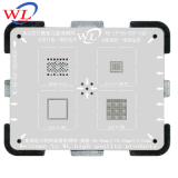 Good quality WL BGA Reballing Stencil template for iphone 5/5C/5S/6/6P/6s/7 BGA Rework Stencils