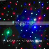 promise of stars! wedding backdrop 3M*6M RGBW LED Star Curtain,LED Star Cloth