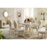 Rectangle pedestal classic italian dining room sets marble dining table