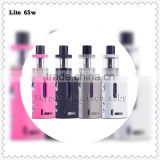 Popular Healthy LCD E Cigarette Mini Vape Starter Kit Vape Box Mod With Pink Black Silver Colors