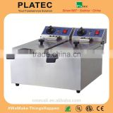 Wholesale Table Top Electric Continuous Commercial Used Deep Fryer