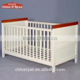 New design baby bed pine wood baby cots