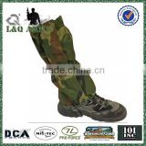 Military Camo Gaiter Boot Legging Leather Gaiters