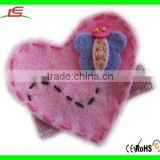 Pink Charming Girl Butterfly Hair Clip