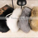 SJ724 Top Quality Raccoon Fox Fur Warmers Bag