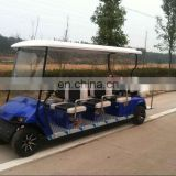 8 seat electric golf cart sightseeing cart