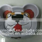 Bear Face Dog feeder pet supplies