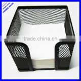 desktop black wire metal mesh desk note holder