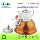 Farberware Classic Stainless Steel Teakettle with Copper Capsule Bottom