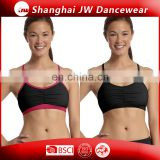 Custom womens yoga wear girl sport seamless bra