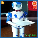 Beauty Intelligent Robot Delivery Meals Humanoid Robot Waiter for Restaurant,Factory Price
