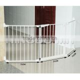 Safety <b>Baby</b> <b>Gate</b>, Plastic Metal Dog Cat <b>Door</b> Barrier