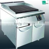2015 New Design electric lava rock grill with cabinet