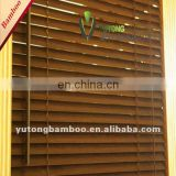 Eco-friendly Bamboo Louver Blinds (2) window blind