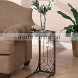 RH-GD3 Metal living room sofa side table