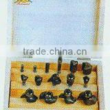 Tungsten carbide router bit-15pcs set-A (0881)