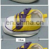 Lovely Mini Yellow Tennis Shoe for Plush Toys and Dolls!