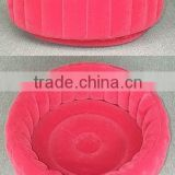 inflatable flocking pvc pool, inflatable children pool, inflatable water pool, inflatable bath tub